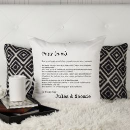 Coussin personnalisable...
