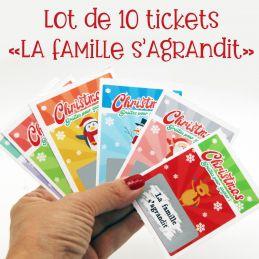 Lot de 10 tickets de jeu à...
