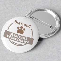 Badge personnalisable...