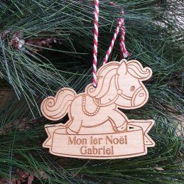 Cheval en bois décoration...