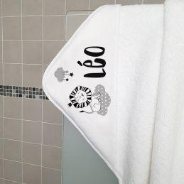 Cape de bain en éponge...