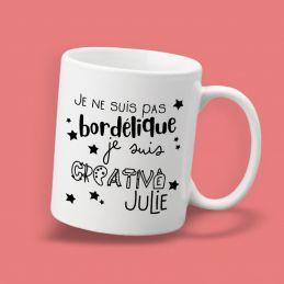 "Mug personnalisable ""Je ne..."