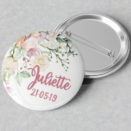 Badges ou magnets Flowers
