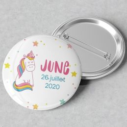 Badges ou magnets Licorne