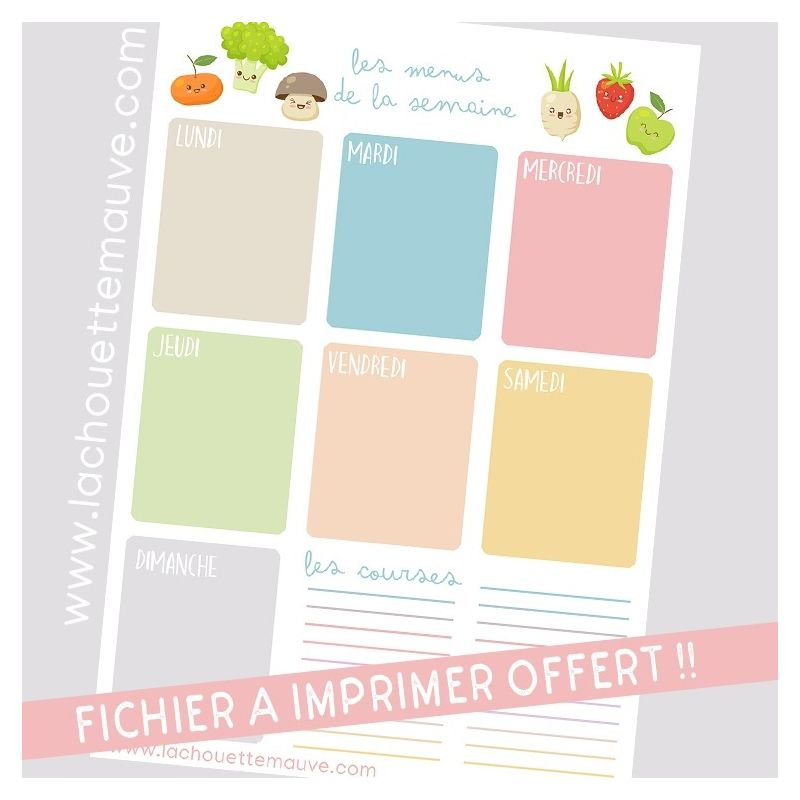 Carte Annonce Originale La Chouette Mauve