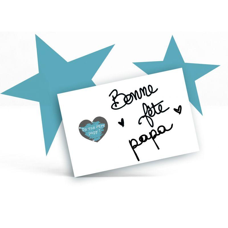 Envie d annoncer une bonne nouvelle ou de dire Je t aime à votre papa    Cette carte à gratter ... 29287fcb832