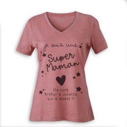T-shirt Super Maman...