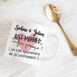 Mug pour futurs mariés en...