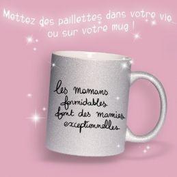Mug pailleté Les mamans...