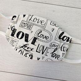 Masque de protection Love...