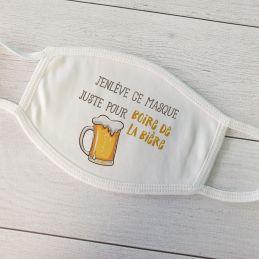 Masque de protection Bière