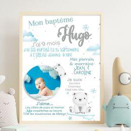 Affiche de baptême...