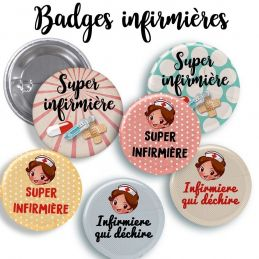 Badge Infimière (plusieurs...