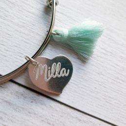 Bracelet jonc et coeur(s)...