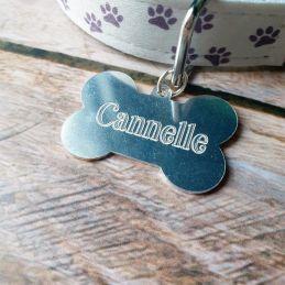 Médaille gravée pour animal...