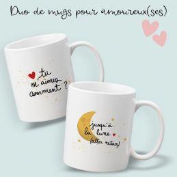 Duo de mug pour couple...