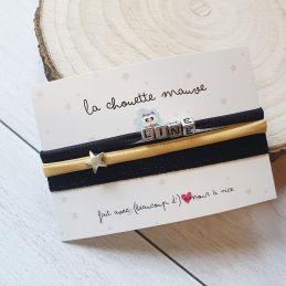 Trio de bracelets...